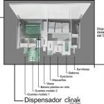 Esquema de los elementos del dispensador clínico