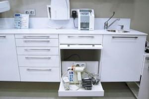 Mobiliario de clínica dental
