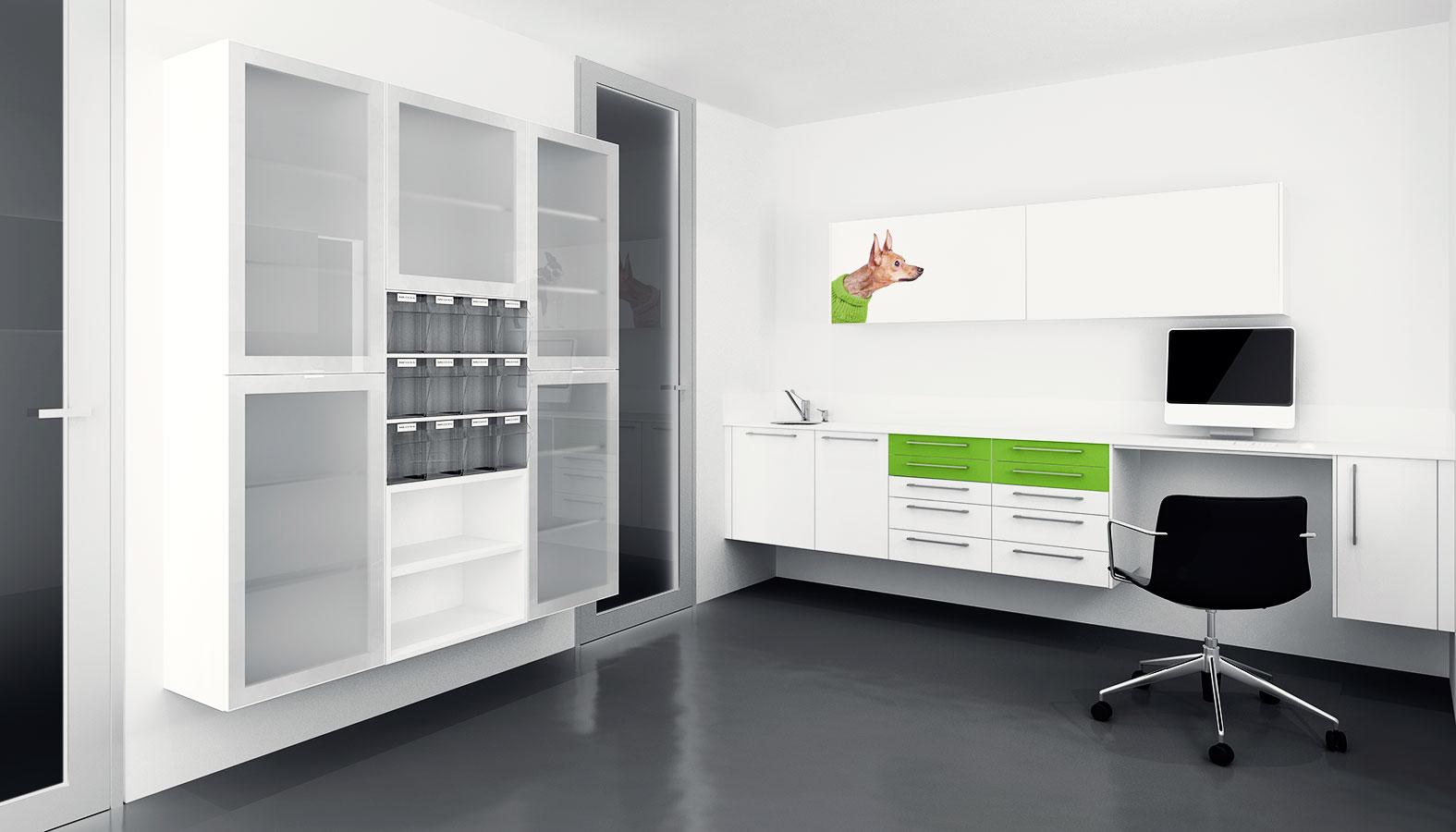 Mobiliario cl nico la novalle cocinas - Mobiliario para veterinaria ...